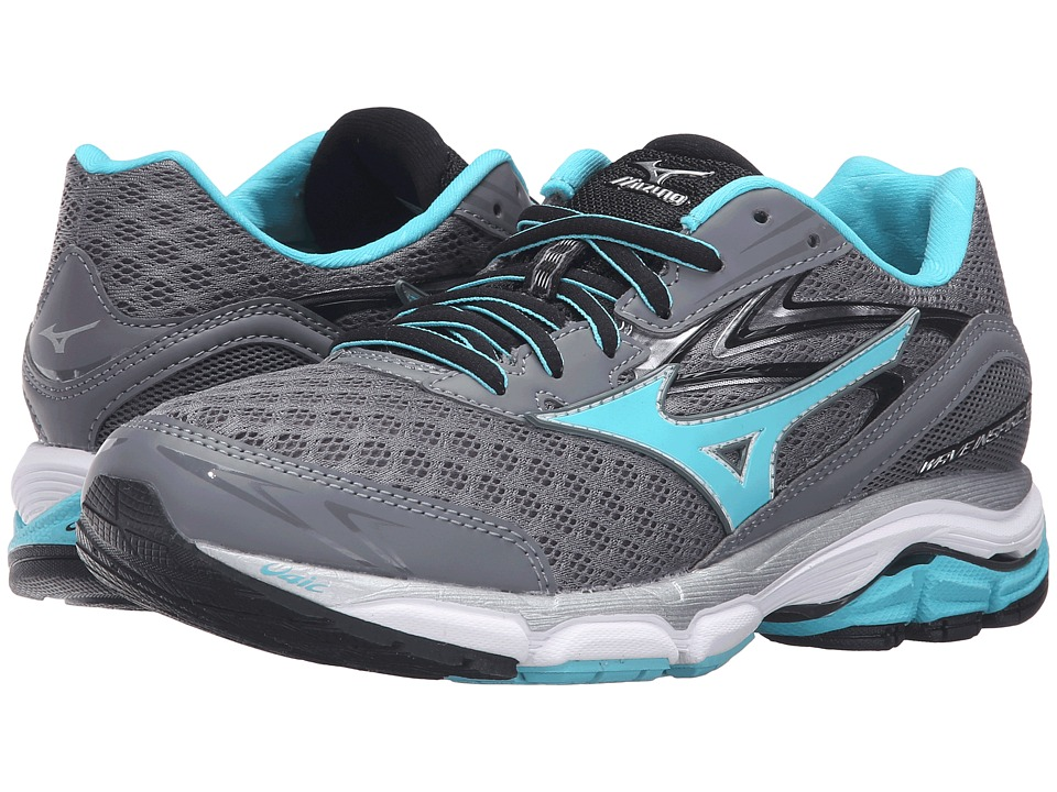 Mizuno - Wave Inspire 12 (Quite Shade/Capri/Black) Women's Running Shoes