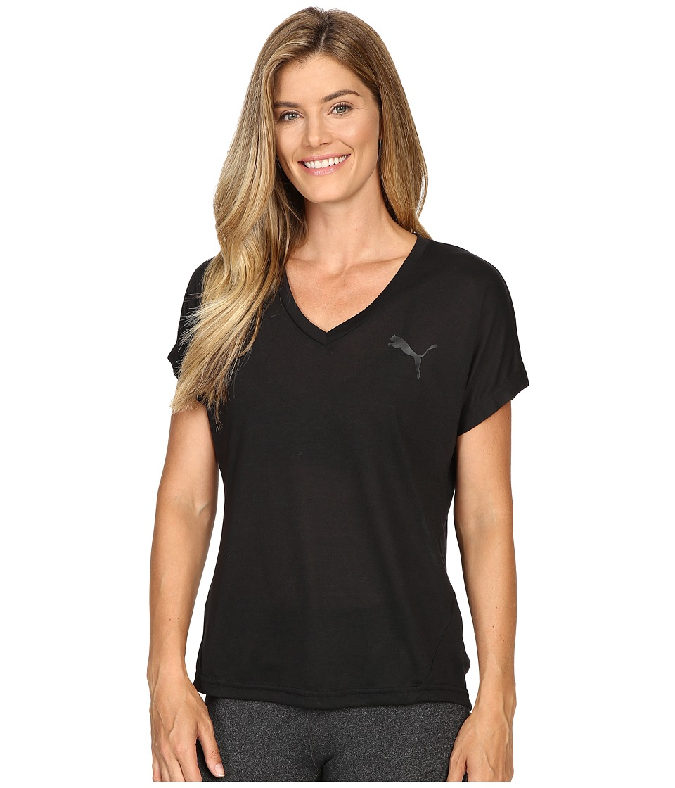 PUMA Elevated Sporty Tee (PUMA Black) Women