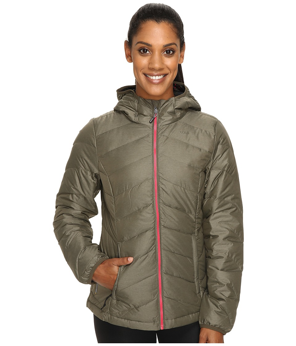 Lole - Emeline Smu Jacket (Khaki Heather) Women's Coat