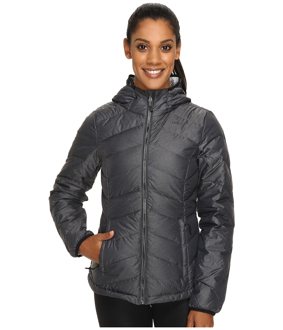 Lole - Emeline Smu Jacket (Black Heather) Women's Coat