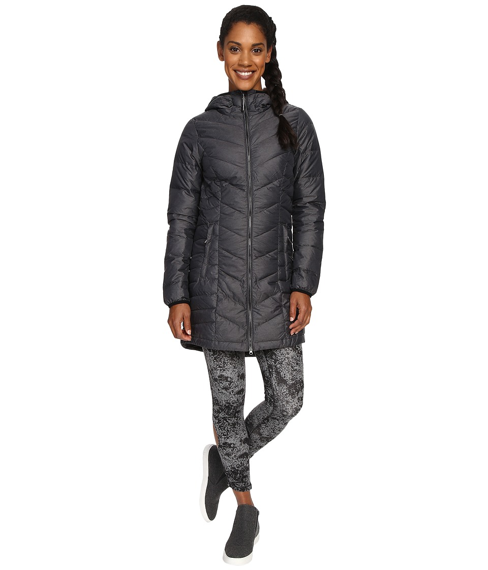 Lole - Claudia Jacket (Black Heather) Women's Jacket