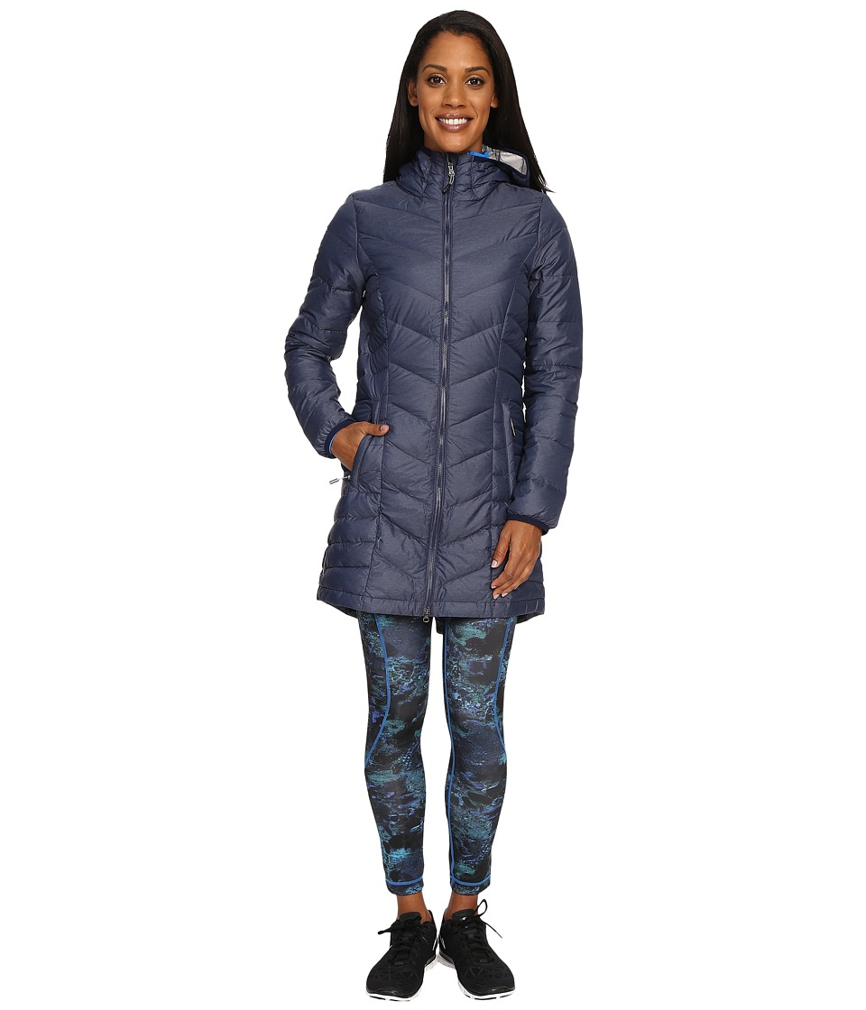 Lole - Claudia Jacket (Amalfi Blue Heather) Women's Jacket