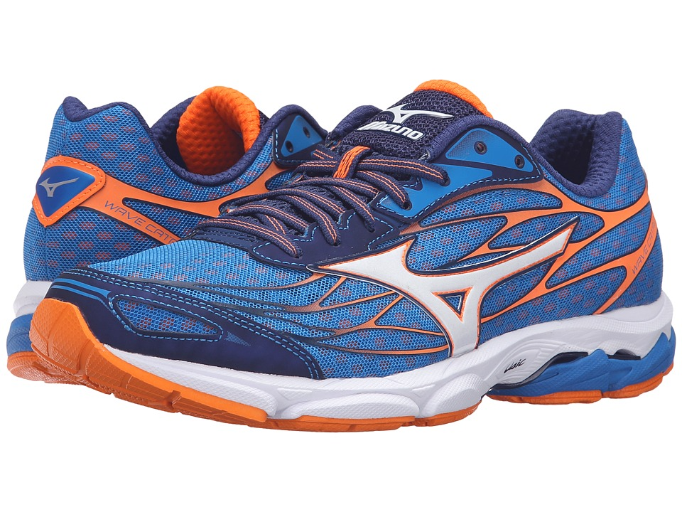 Mizuno - Wave Catalyst (Directoire Blue/Clownfish/White) Men's Running Shoes