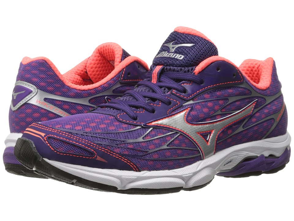 Mizuno - Wave Catalyst (Pansy/Diva Pink/Silver) Women's Running Shoes