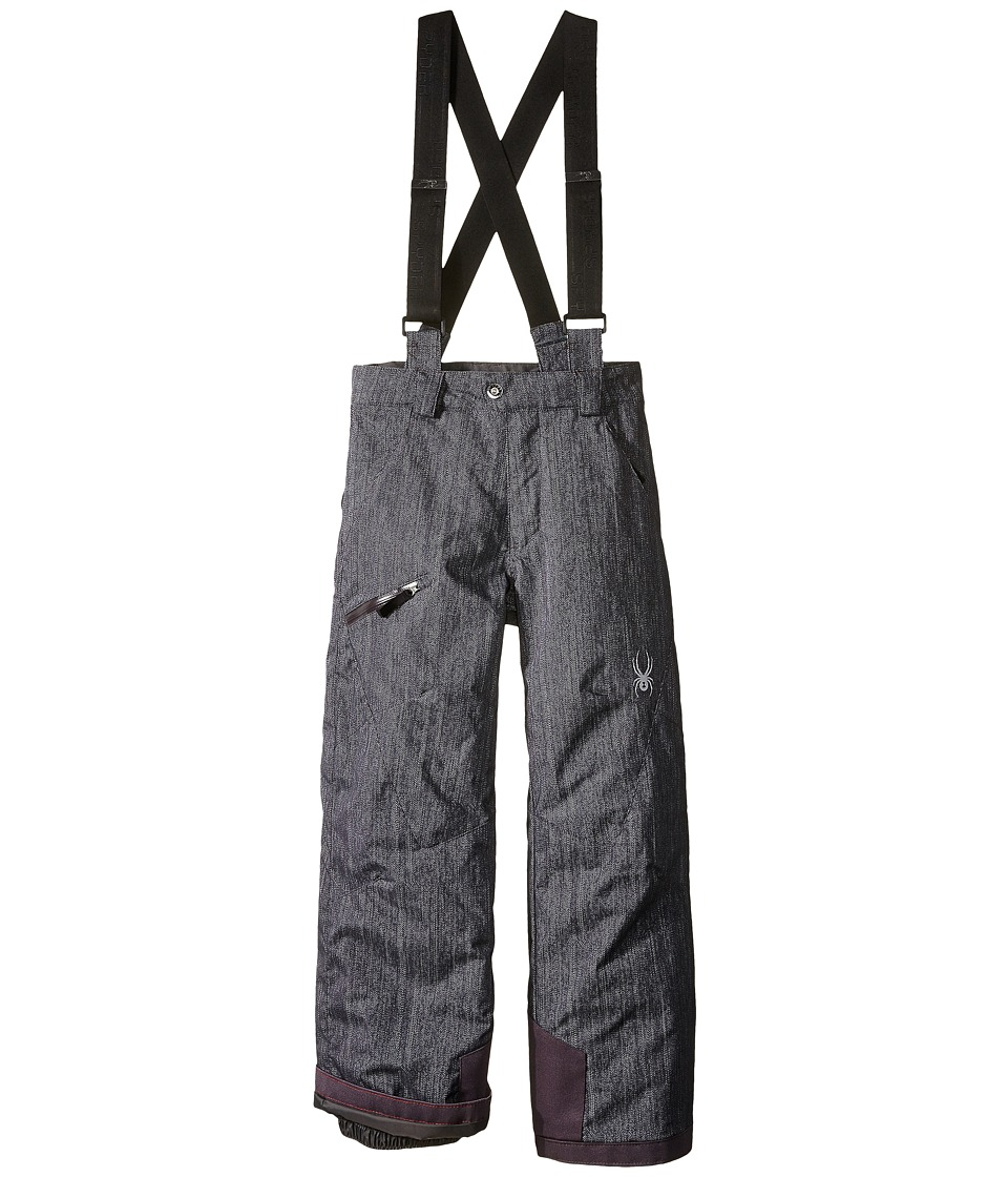 Spyder Kids - Propulsion Pants (Big Kids) (Herringbone Print) Boy's Outerwear
