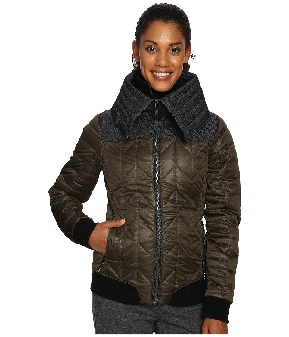 Lole - Colleen Jacket (Forest Heather) Women's Coat