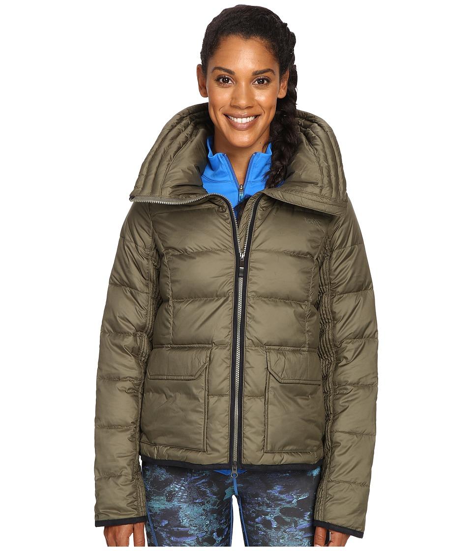Lole - Ginny Jacket (Khaki) Women's Coat