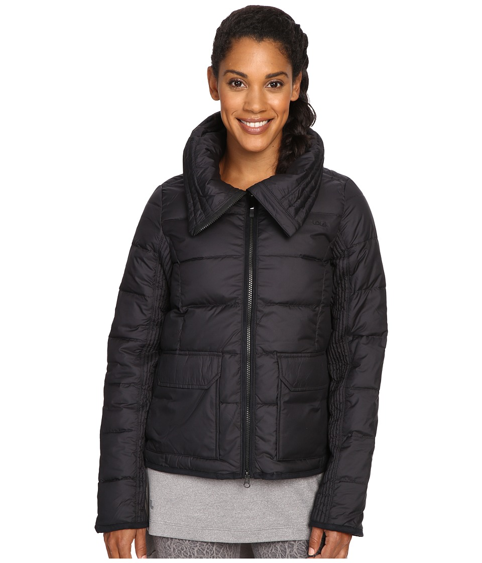 Lole - Ginny Jacket (Black) Women's Coat