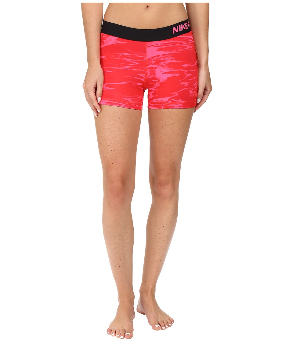 Nike Pro Cool Pool Print Training Short (Hyper Pink/Hyper Pink) Women