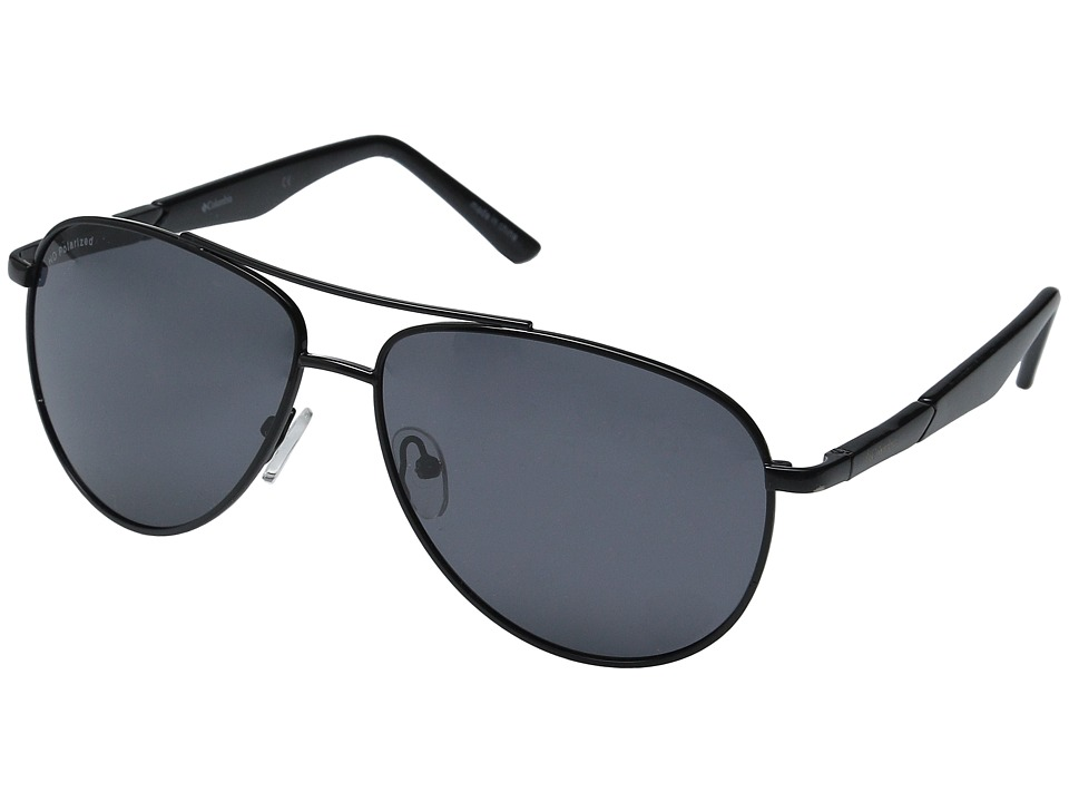 Columbia - CBC70302 (Shiny Black) Sport Sunglasses