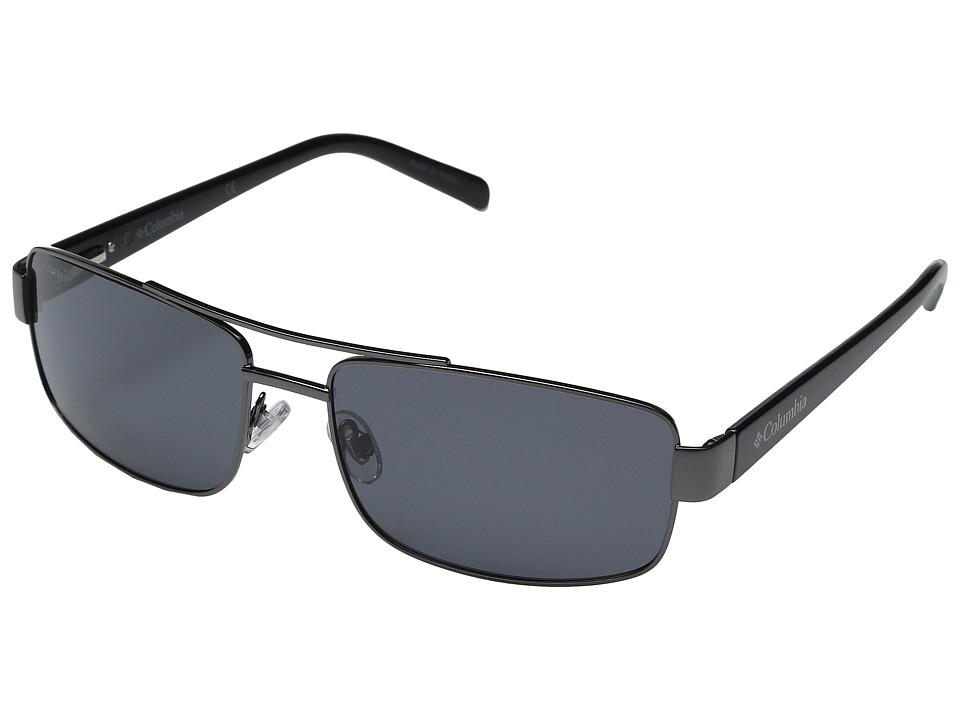 Columbia - CBC80301 (Shiny Gunmetal) Sport Sunglasses