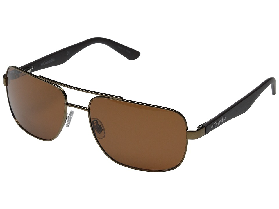 Columbia - CBC80403 (Matte Dark Brown) Sport Sunglasses
