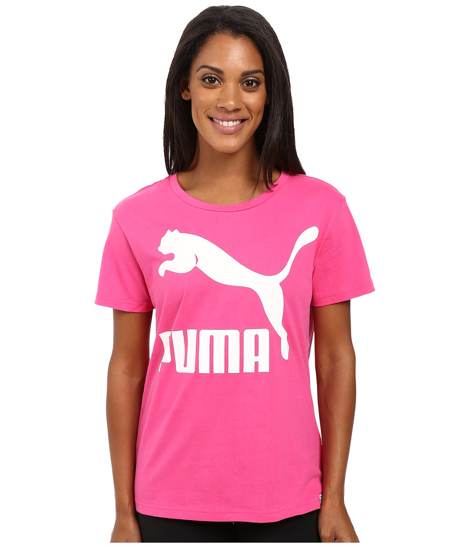 PUMA - Archive Logo Tee (Fuchsia Purple) Women's T Shirt