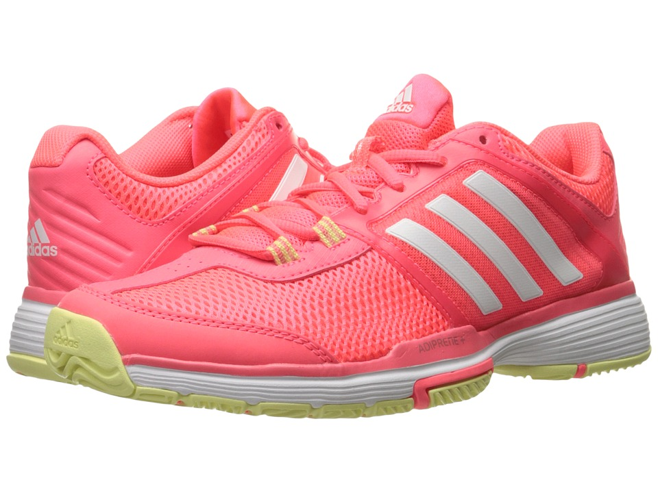 adidas - Barricade Club (Flash Red/White) Women's Shoes