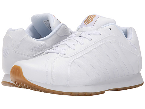 K-Swiss - Verstad III S (White/Dark Gum) Men's Shoes
