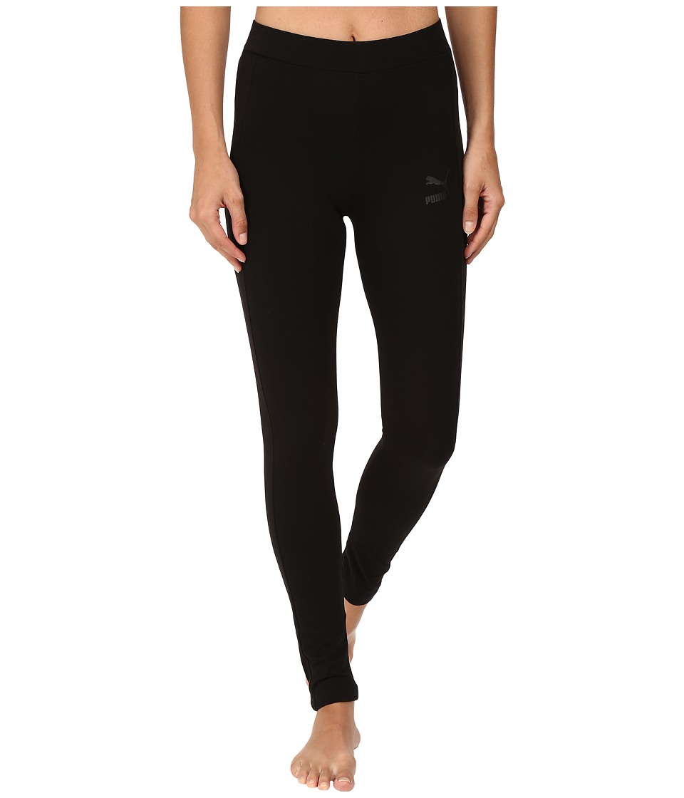PUMA - T7 Leggings (Cotton Black) Women's Casual Pants