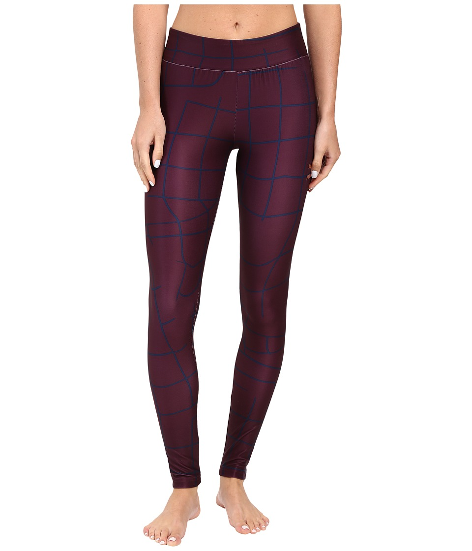 PUMA - EVO Grid Leggings (Winetasting) Women's Casual Pants