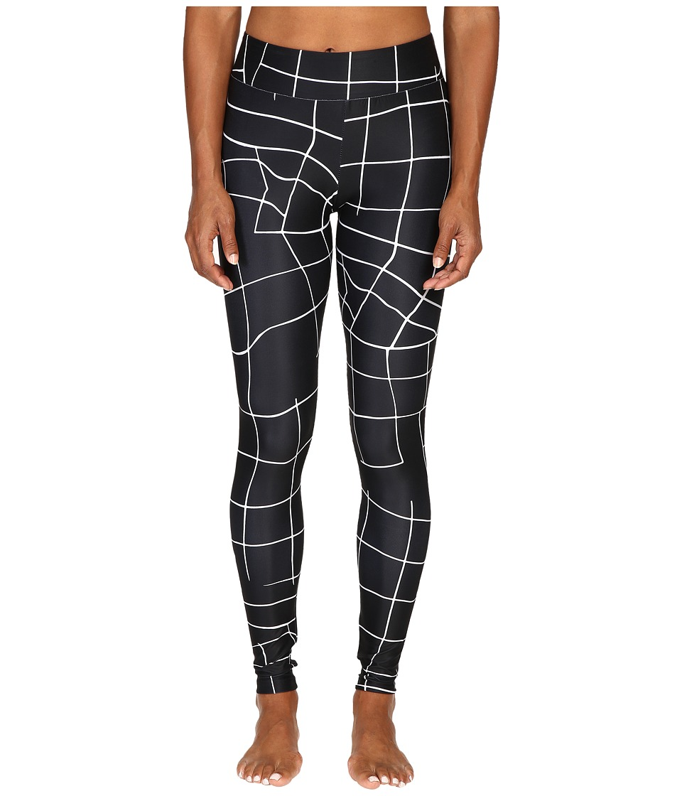 PUMA - EVO Grid Leggings (PUMA Black) Women's Casual Pants