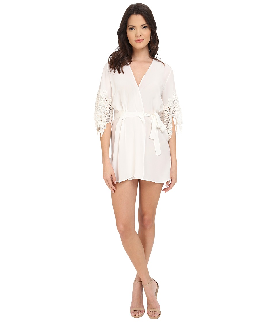 Stone Cold Fox - Fox Robe (White) Women's Robe