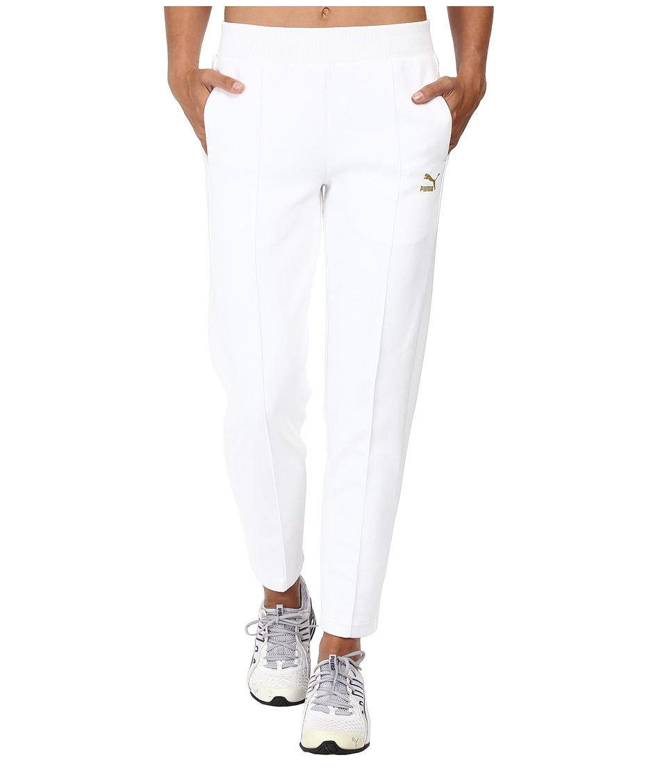 PUMA - Gold T7 7/8 Pants (PUMA White) Women's Casual Pants