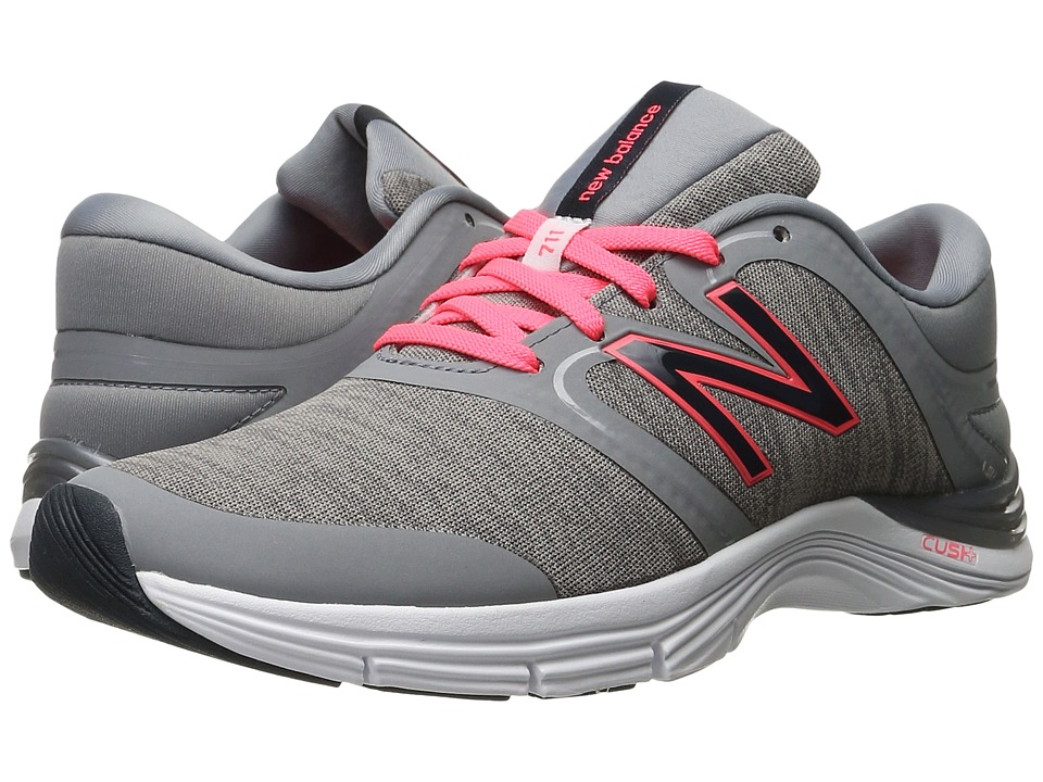 New Balance - WX711v2 (Steel/Heather) Women's Cross Training Shoes