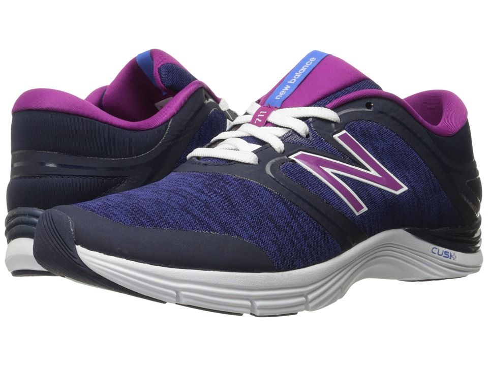 New Balance - WX711v2 (Pigment/Heather) Women's Cross Training Shoes