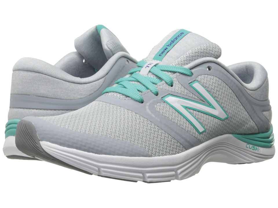New Balance - WX711v2 (Silver Mink/Aquarius) Women's Cross Training Shoes