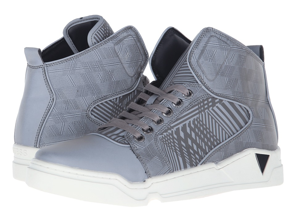 GUESS - GMBRICE (Silver) Men's Shoes