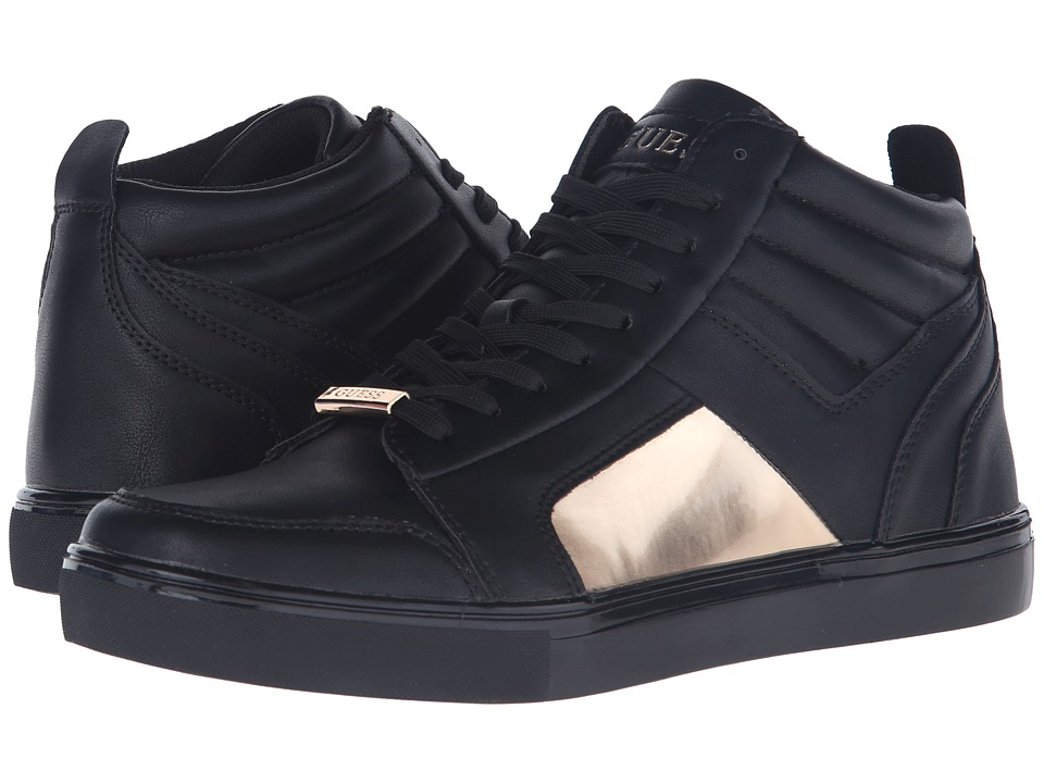 GUESS - Tablet (Black/Gold) Men's Shoes