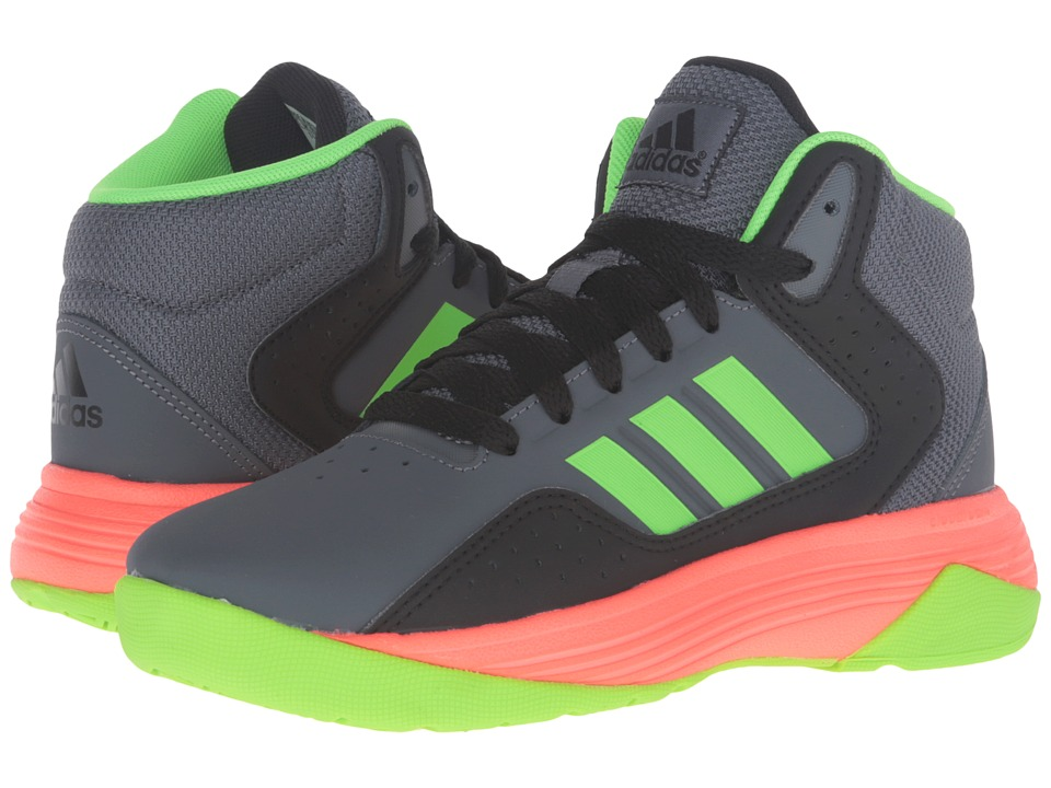 adidas Kids - Cloudfoam Ilation (Little Kid/Big Kid) (Onix/Solar Green/Core Black) Boys Shoes