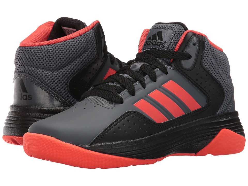 adidas Kids - Cloudfoam Ilation (Little Kid/Big Kid) (Onix/Bright Red/Core Black) Boys Shoes
