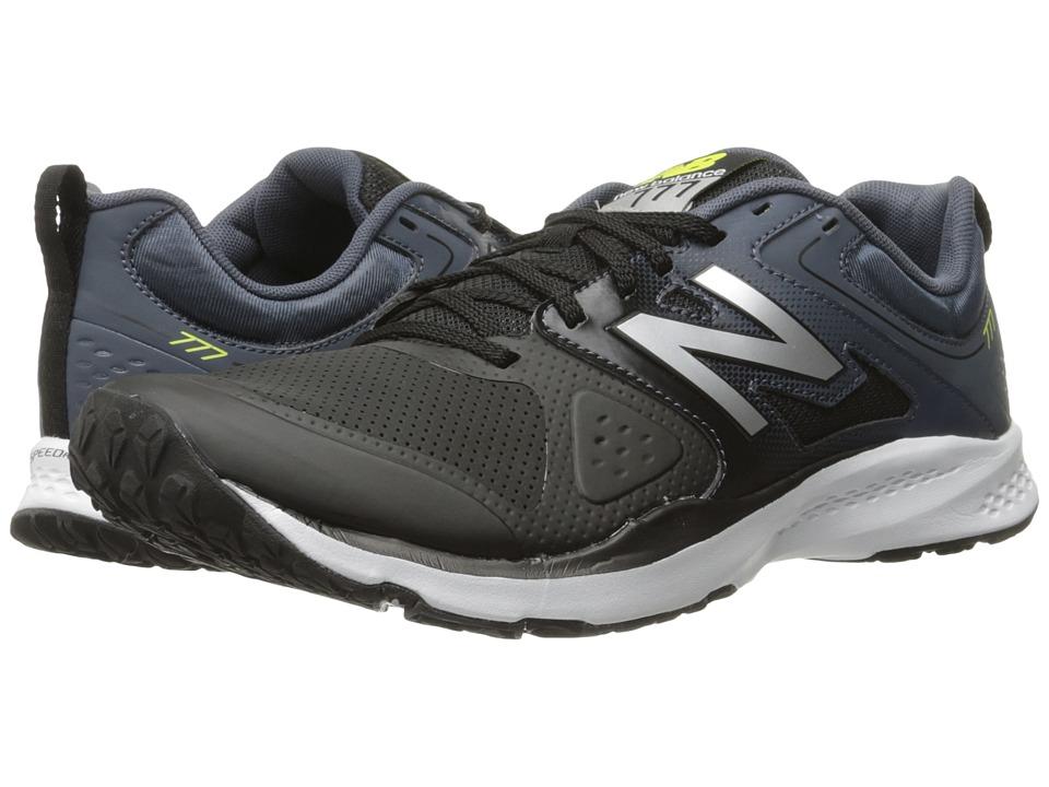 New Balance - MX777v2 (Black/Grey) Men's Shoes