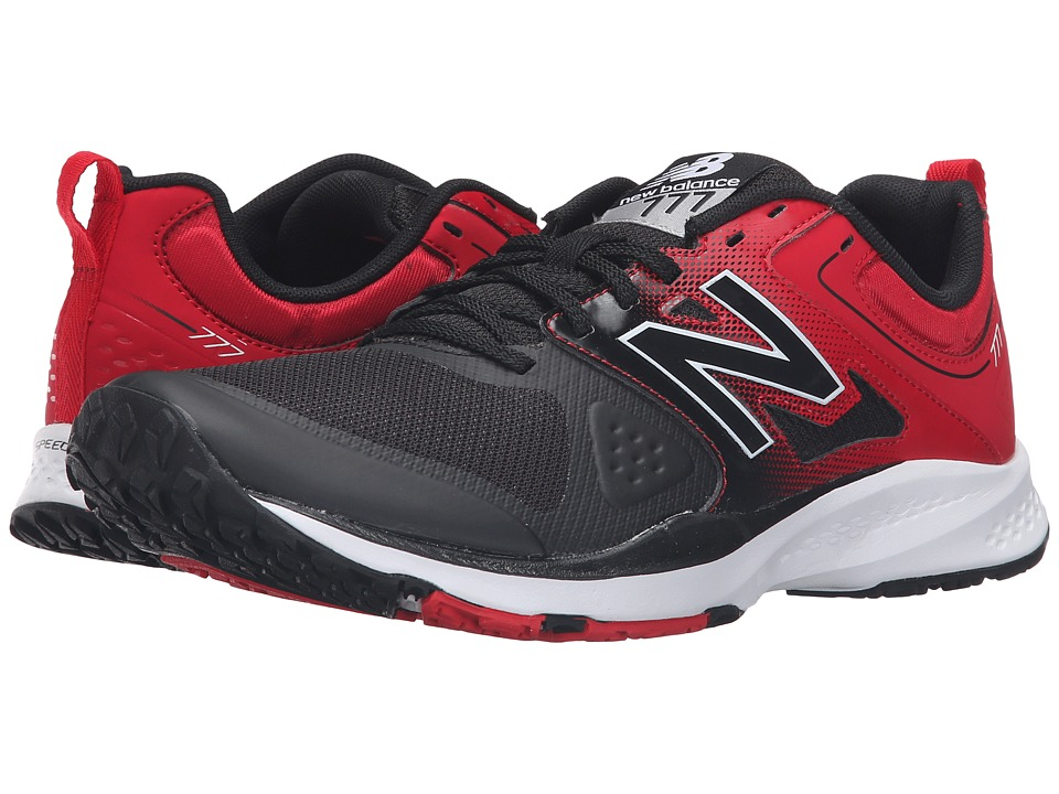 New Balance - MX777v2 (Black/Red) Men's Shoes