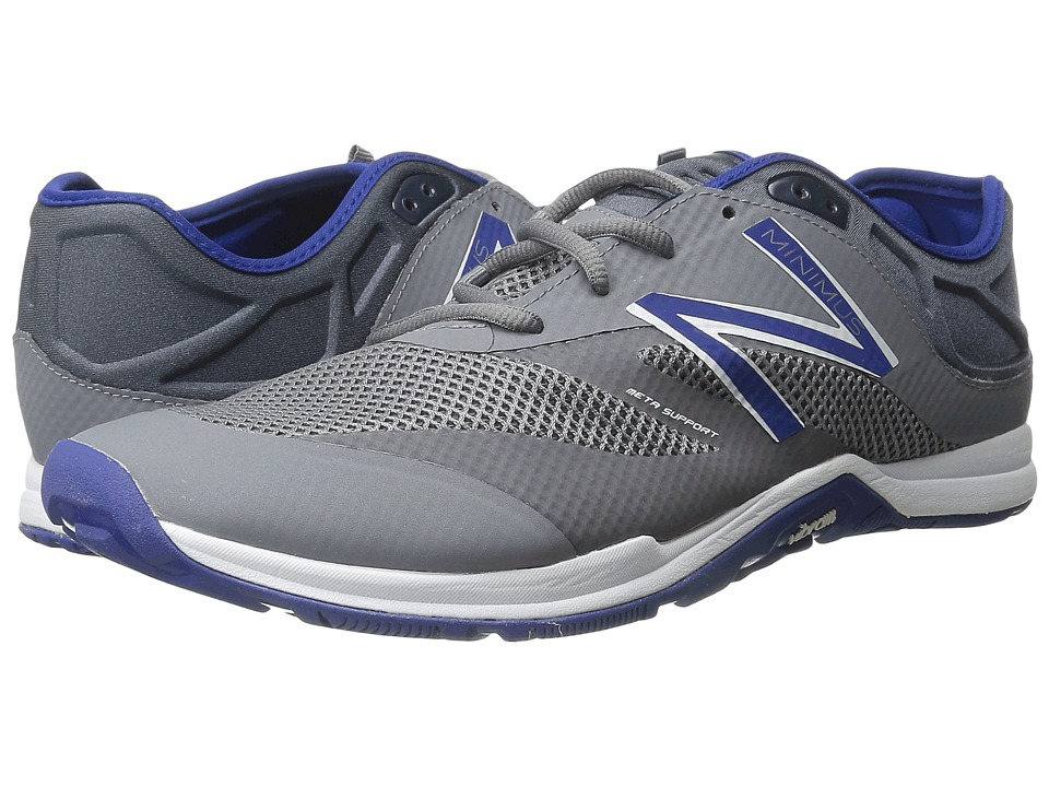New Balance - MX20v5 (Gray/Blue) Men's Shoes