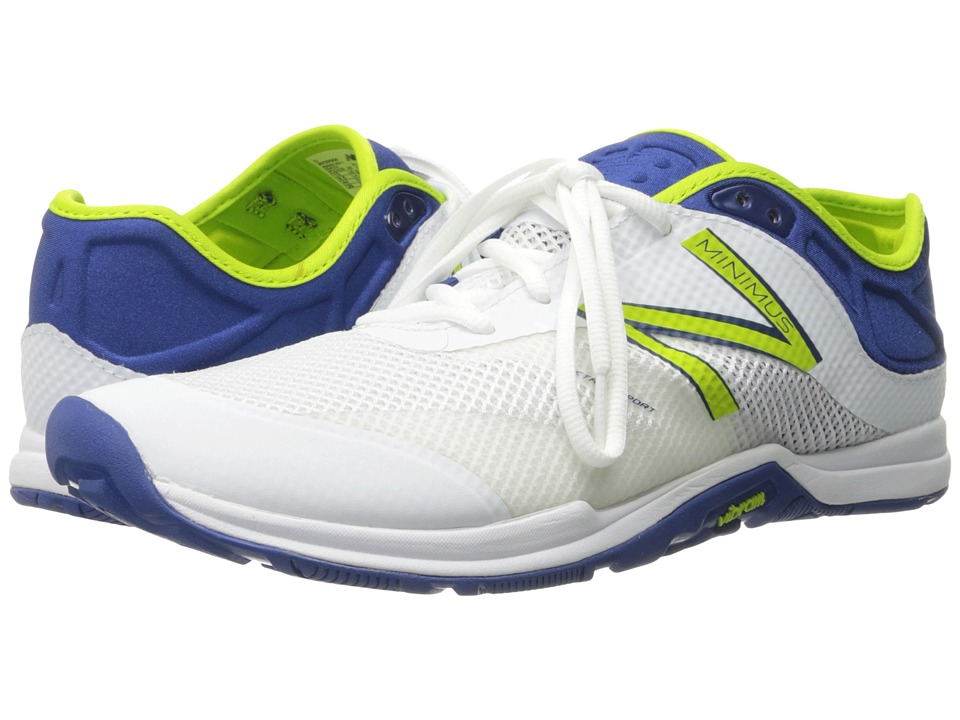 New Balance - MX20v5 (White/Blue) Men's Shoes