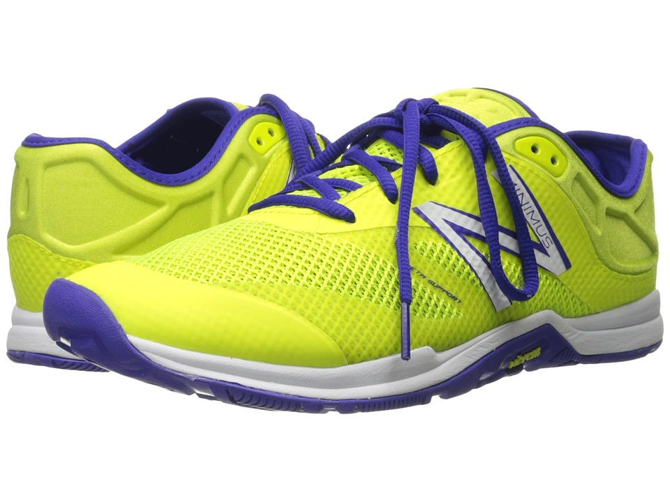 New Balance - WX20v5 (Yellow/Purple) Women's Cross Training Shoes