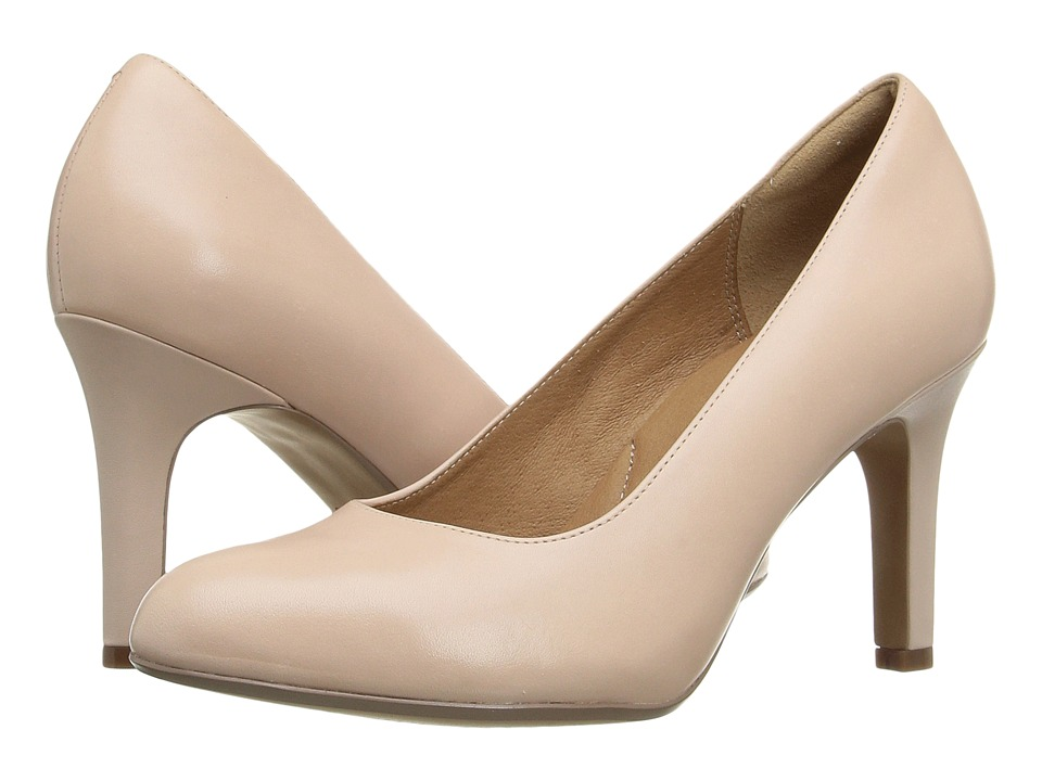 Clarks - Heavenly Star (Nude Leather) Women's Shoes