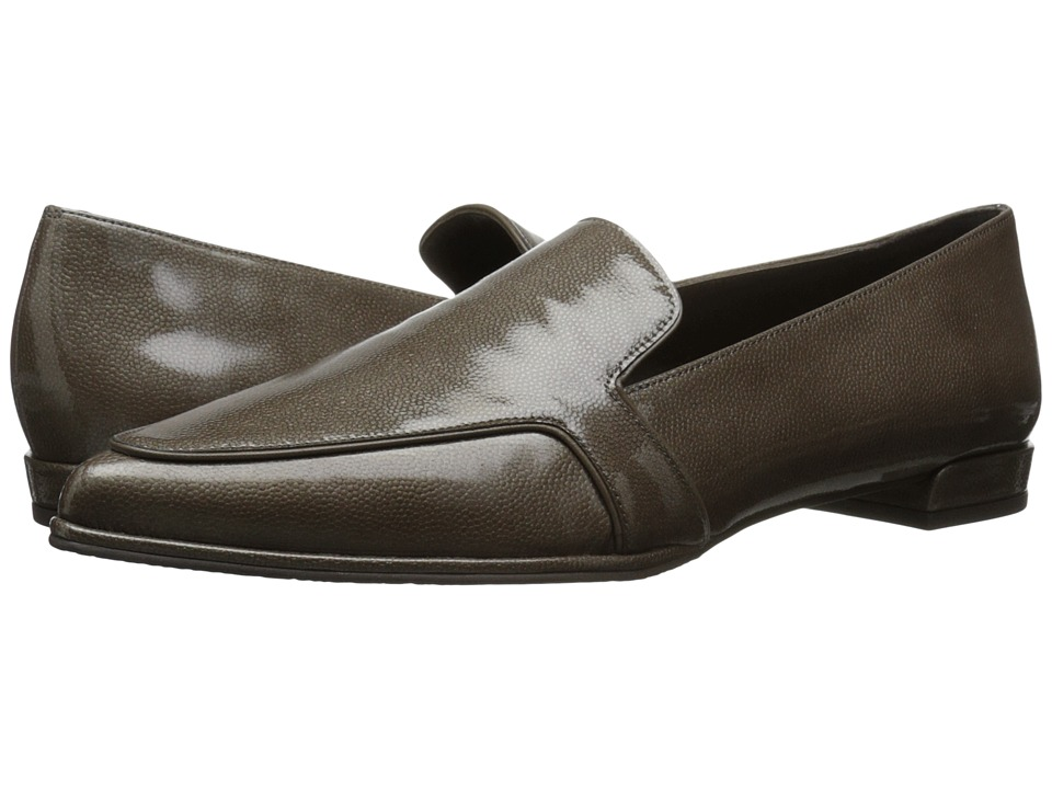 Stuart Weitzman - Pipelopez (Taupe Molecular Patent) Women's Slip on Shoes