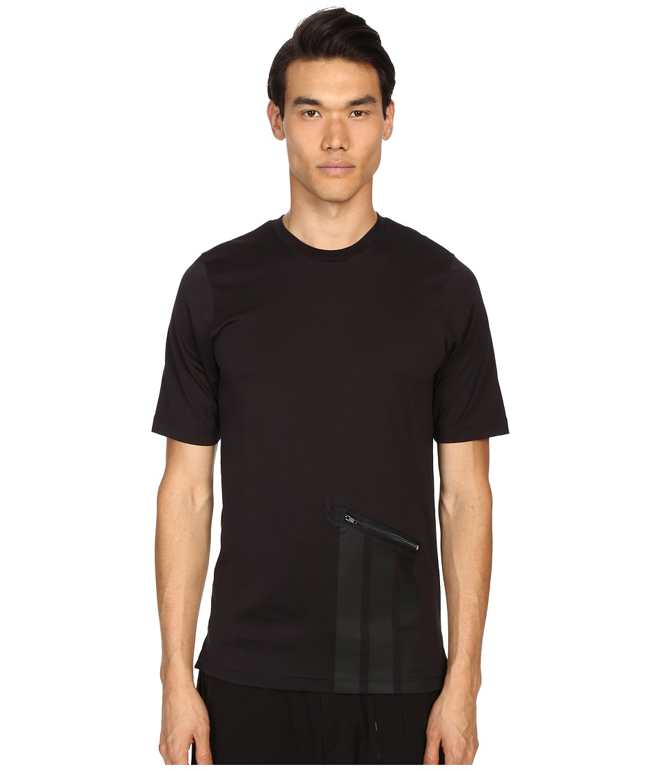 adidas Y-3 by Yohji Yamamoto - Digital S Tee (Black) Men's T Shirt