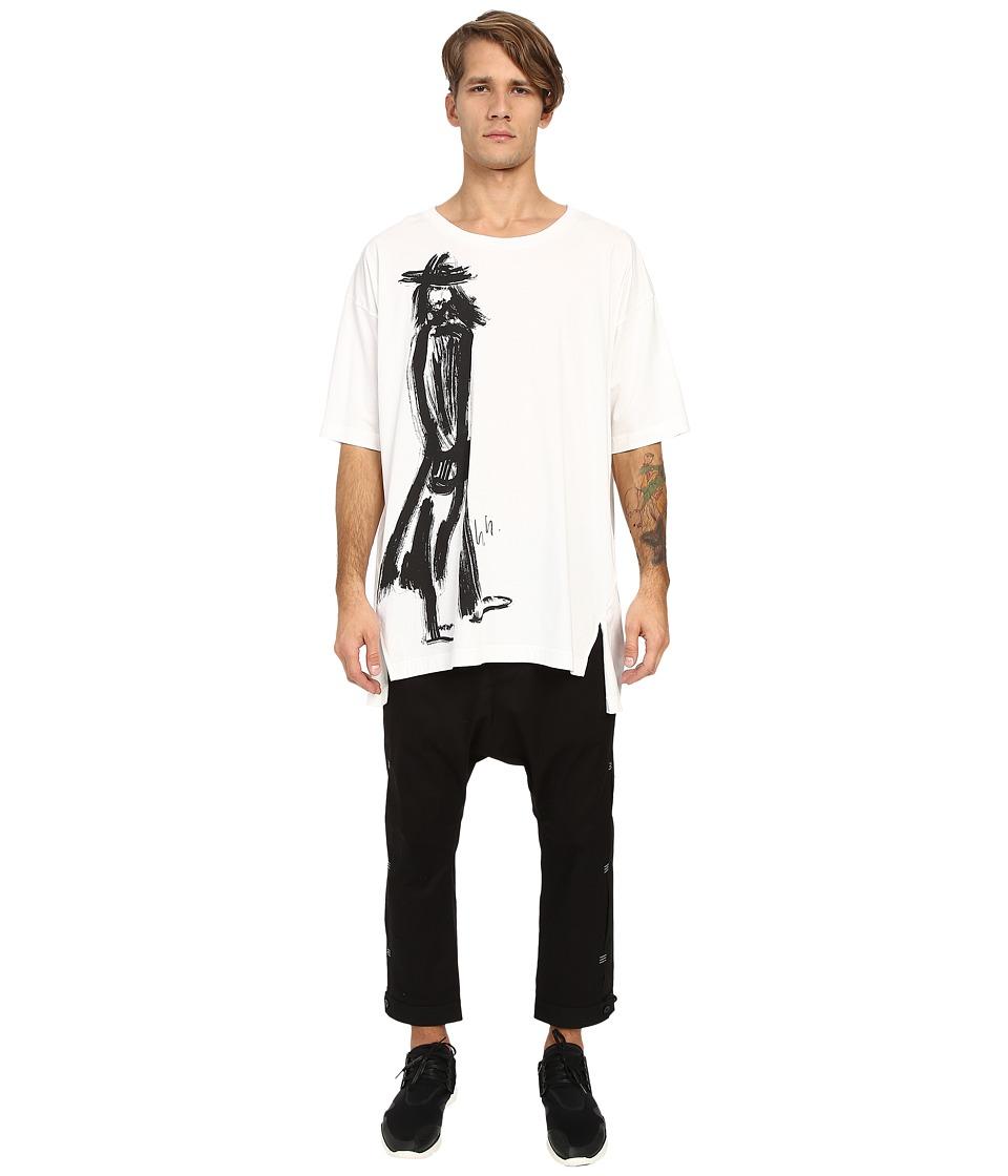 adidas Y-3 by Yohji Yamamoto - Sketch 2 Tee (Core White) T Shirt