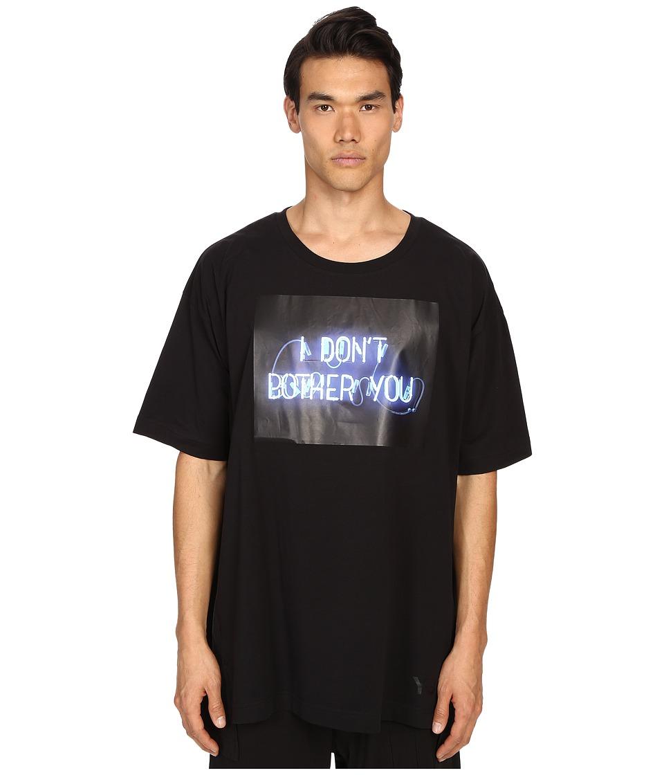 adidas Y-3 by Yohji Yamamoto - Black Tee (Black) T Shirt