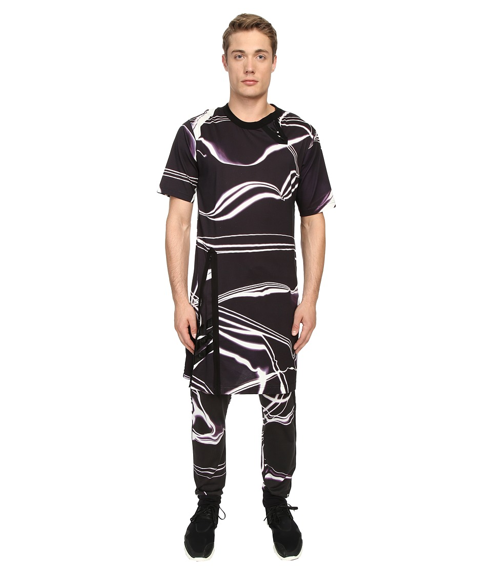 adidas Y-3 by Yohji Yamamoto - Zip Aop Tee (Aop Lightning) T Shirt