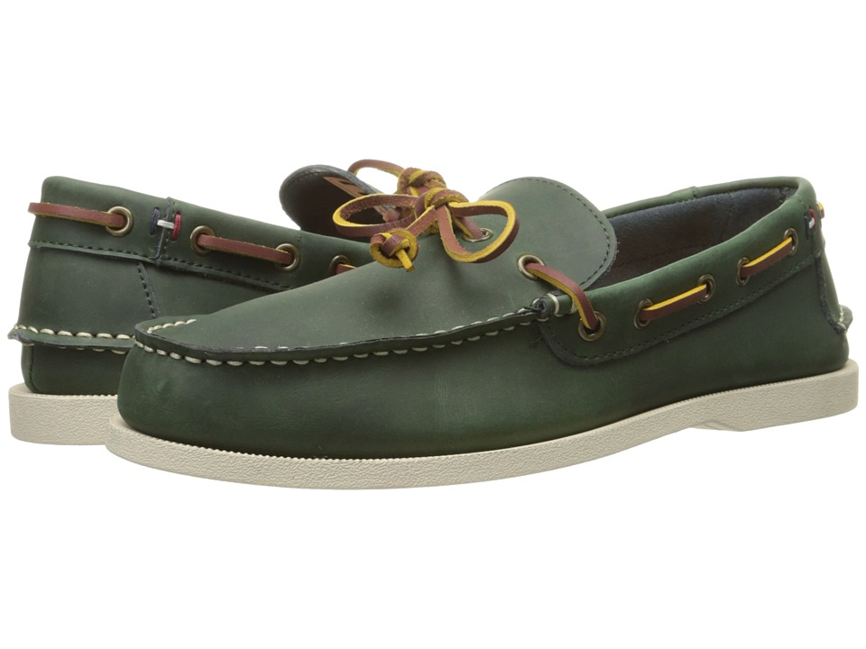 Tommy Hilfiger - Brisbane (Dark Green) Men's Shoes
