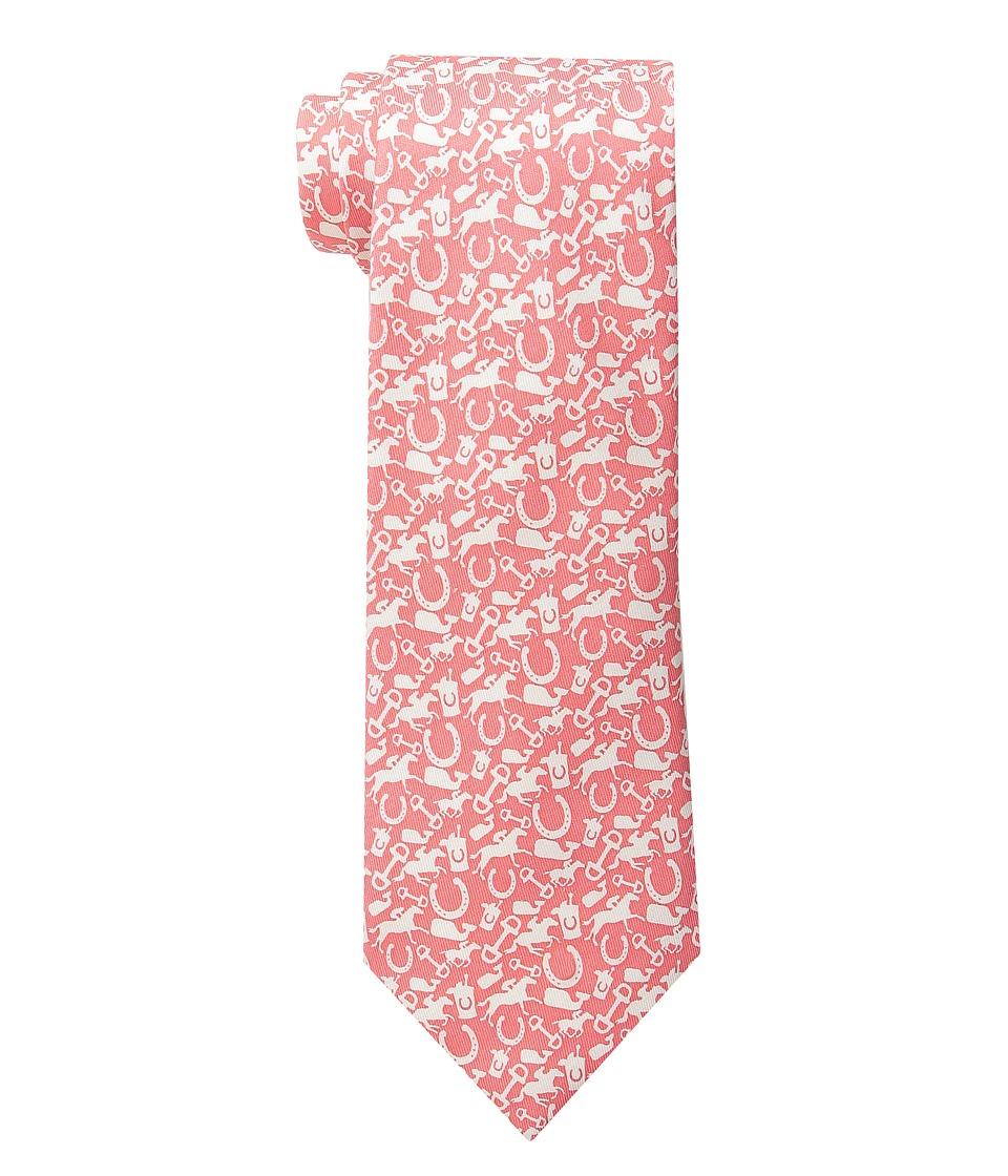 Vineyard Vines - Printed Tie-All Over Derby (Peach) Ties