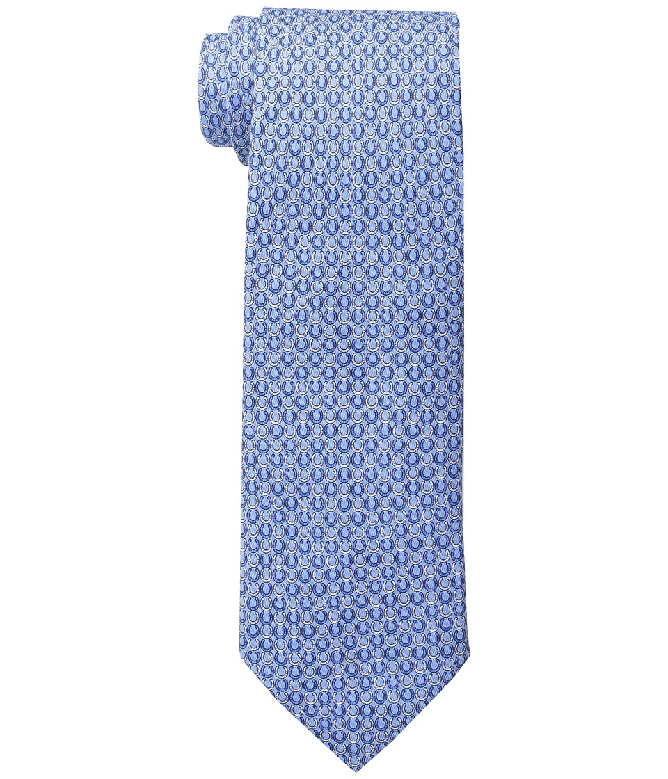 Vineyard Vines - Printed Tie-Horseshoe Geo (Royal Blue) Ties