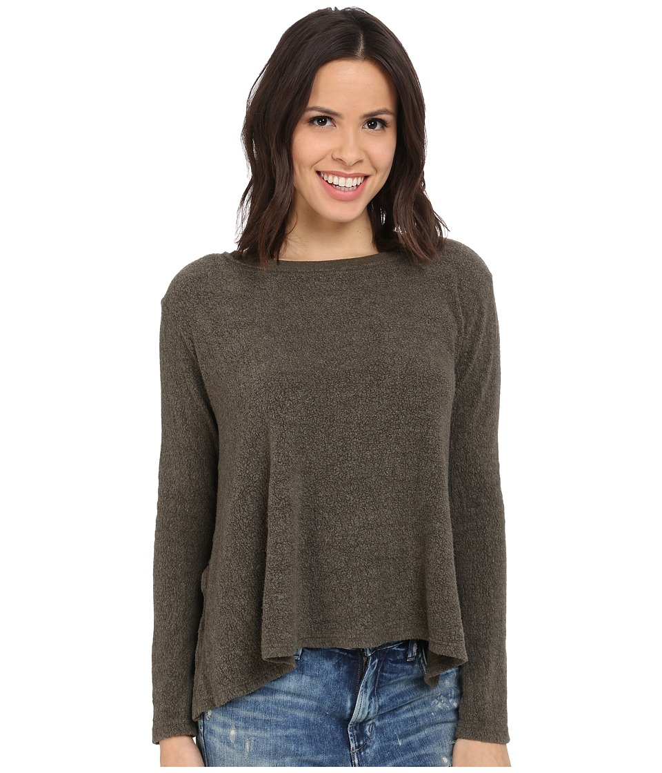 Project Social T - Cabin Fever Sweatshirt (Army Green) Women