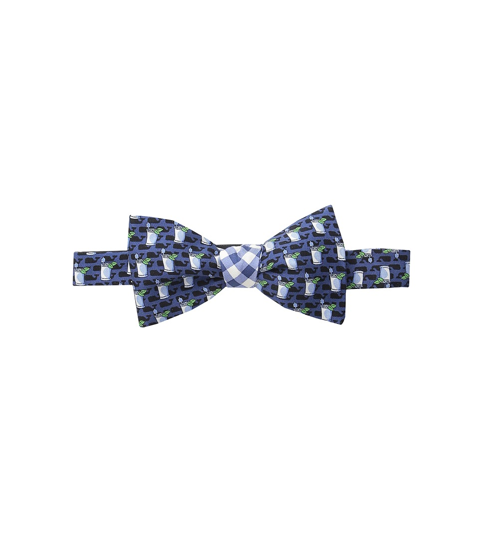 Vineyard Vines - Printed Bow Tie-2-Panel (Navy) Ties