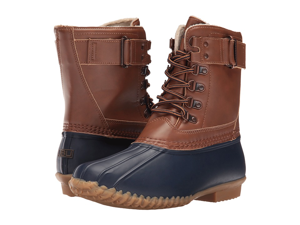 JBU - Nova Scotia (Navy/Tan) Women's Shoes