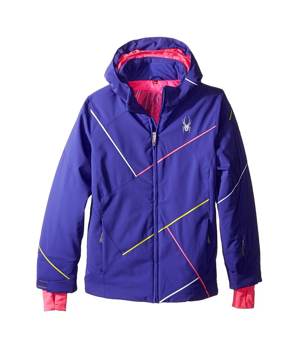 Spyder Kids - Tresh Jacket (Big Kids) (Pixie/Bryte Bubblegum/Acid) Girl's Coat