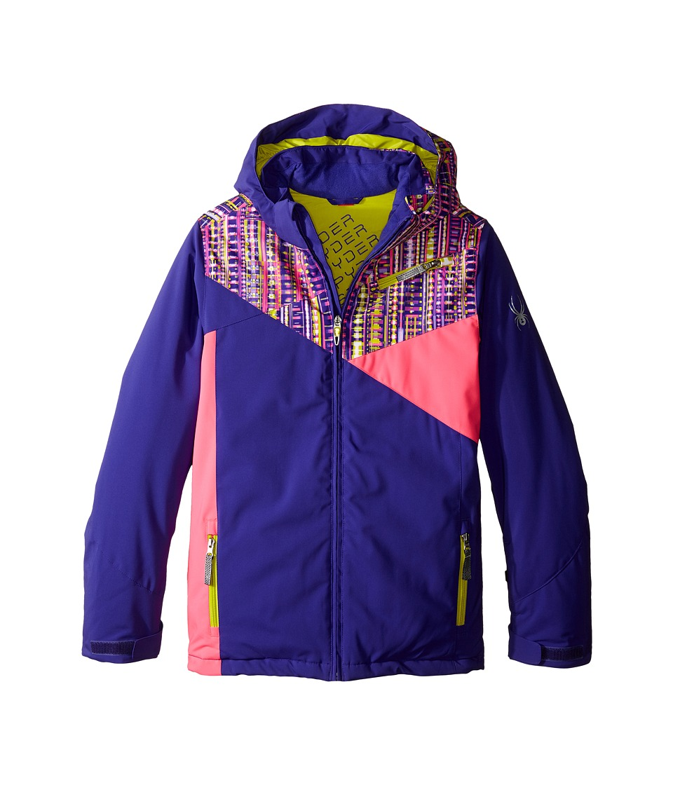 Spyder Kids - Project Jacket (Big Kids) (Pixie/Harmony Acid/Bryte Bubblegum) Girl's Coat